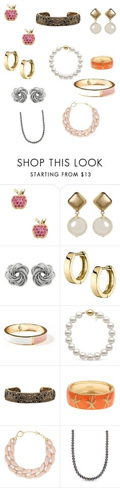 """Jewelry"" by marmarianar on Polyvore featuring moda, Sydney Evan, Old Navy, Avon y DIANA BROUSSARD"