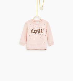 'Cool' 베이직 스웨트셔츠