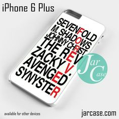 Avenged Sevenfold Quotes forever Phone case for iPhone 6 Plus and other iPhone devices