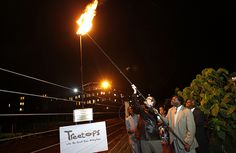 Lighting of the Beacon at Treetops, Kenya, the resort where the young Princess Elizabeth heard that she had become Queen Hm The Queen, Princess Elizabeth, Tourism, National Parks, Lighting, Concert, Kenya, Watch, Diamond