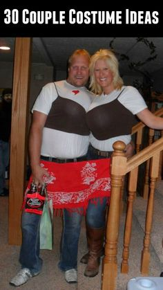 Big Boobs Couple Costume - Click for 30 more costume ideas for couples!  sc 1 st  Pinterest & Octomom Halloween Costume | Halloween Ideas! | Pinterest | Michael ...