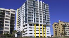 With most resorts in North Myrtle Beach you get a coffee pot - with the Seaside you get a full kitchen, with refrigerator,