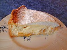Beste Rezeptesammlung: Vanille - Käse - Kuchen mit Pfirsichen
