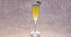 MY FUNNY CLEMENTINE ~1.5 oz Bulldog Gin ~4 Clementine segments ~.25 oz Lemon juice ~.5 oz Simple Syrup ~2 dashes Blood Orange Bitters ~Prosecco or dry Champagne >Garnish:
