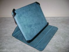 on eBay by MsFrugaLady:   TARGUS TRUSS THZ022US Black Turquoise CARRYING CASE Stand for Apple iPad 1 & 2