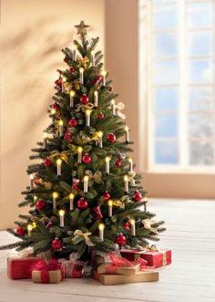 LED-Weihnachtsbaumkerzen mit Farbwechsel, 10er-Set