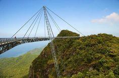 Langkawi Sky Bridge, Isola di Langkawi, Malesia