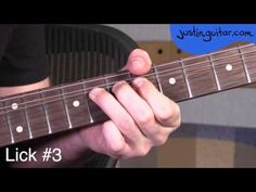 Blues licks minor pentatonic