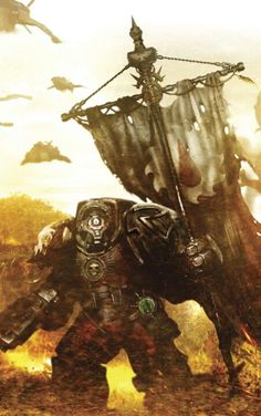 The Flesh Tearers, my favourite SM chapter. The psychopathic cousins of the angels of death.