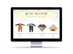 Little Rookies is live: www.littlerookies.nl ! | Brand identity design by www.floorwinter.nl