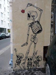 Cute skeletons
