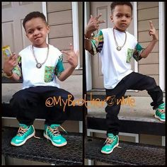 Awwww. This little boy is too fly!!
