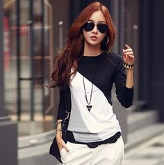 Casual Vintage Long Sleeve Shirt