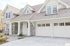 Gray and white exterior paint colors