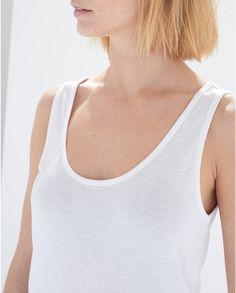 White Gyras Tank Top #atterleyroad #style #outfit #inspiration #white #tank #top #basics #effortless #minimal #modern