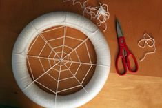 Spider Web Wreath