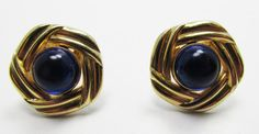 Marvelous Vintage 1950s Men's Sapphire Blue by GildedTrifles