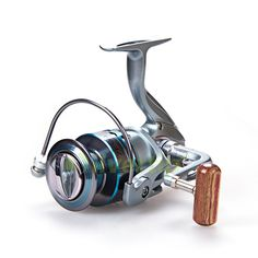 Aluminum Line Cup 2000 - 7000  Spinning Fish Reel 12BB + 1 Bearing Balls High Speed Ratio 5.5:1 Wheel Bait Casting Fishing Reels