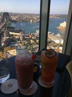 Shangri La Sydney cocktails