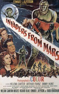 El señor de los bloguiños: Invasores de Marte (1953) de William Cameron Menzi...