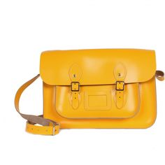 Leather Satchel Bag to match with my gum boots!
