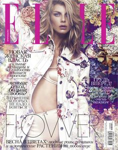 Elle Russia March 2014, Angela Lindvall
