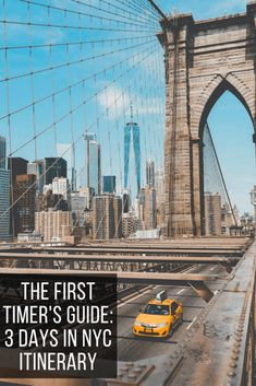 NYC 3 Day Itinerary: A Guide for First Timers