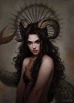 Capricorn sisters by fdasuarez on DeviantArt