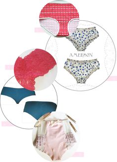 Coudre sa propre lingerie pour des pièces sur-mesure. Première partie : les culottes !