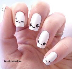 Kawaii nail art is a very famous and cute looking in Japanese series. Kawaii nail art is a very famous and cute looking in Japanese series. Here are the top 9 Kawaii nail art designs that you can try out. Diy Nails, Cute Nails, Pretty Nails, Manicure Ideas, Nail Ideas, Kawaii Nail Art, Nagel Hacks, Nails For Kids, Nail Art For Girls