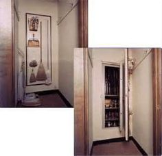 Image Search Results for hidden gun storage.  This will be good for stockpile on items used around the house.