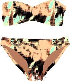 haces calzas?mallas?ropa interior? mirá como qu by jimena palacios, via Behance