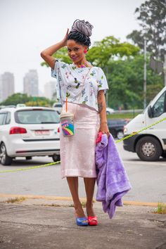 magá moura, fashion, street style inspiration, box braids