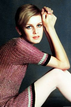 Twiggy photographed by David Steen, 1967, 1960s mod, vintage fashion, swinging sixties