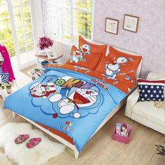 Single Bed Double Bed The Cheapest Price Spongebob Squarepants No Filling Spiderman Bedding Set 3pcs Bed Sheets Pillowcase Cover