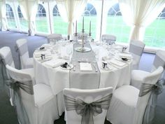 Take a look at the best grey wedding themes in the photos below and get ideas for your wedding! Today weve paired gorgeous grey with glamorous gold and come up with a stunning minimal wedding theme suitable for any season! Wedding Table Setup, Wedding Table Linens, Wedding Chairs, Wedding Chair Covers, Grey Wedding Theme, Purple Wedding, Wedding Themes, Diamond Wedding Theme, Diamond Theme