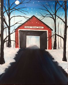 Little Red Bridge  Paint Nite. Drink. Paint. Party! We host painting events at local bars. Come join us for a Paint Nite Party!
