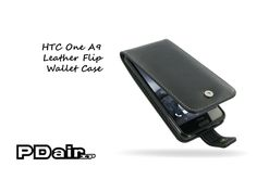 PDair HTC One A9 Leather Flip Wallet Case