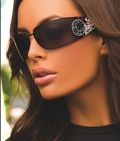 1e27ecda719 New ED HARDY EHS039 LOVE KILLS SLOWLY SUNGLASSES IN BLACK by Ed Hardy.   179.95.