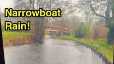 An Hour of Rain on a Narrowboat Roof Relax Video, Narrowboat, The Great Outdoors, Audio Books, Picture Video, Rain, In This Moment, Travel, Instagram