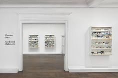 """Damien Hirst """"Medicine Cabinets"""" Exhibition NYC L&M Arts 45 East 78 Street New York, NY 10075 United States"""