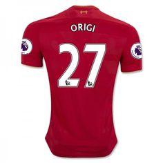 Liverpool 16-17 Divock #Origi 27 Hjemmebanesæt Kort ærmer,208,58KR,shirtshopservice@gmail.com