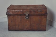 Inherited trunk like this from grandparents house.