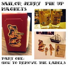 Sailor Jerry Pin Up Magnets (part one)