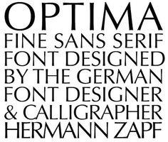 Optima — Zapf
