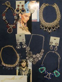 trendy jules b. statement necklaces for holiday '14... looking forward to all the glitz and glamour the season calls for!