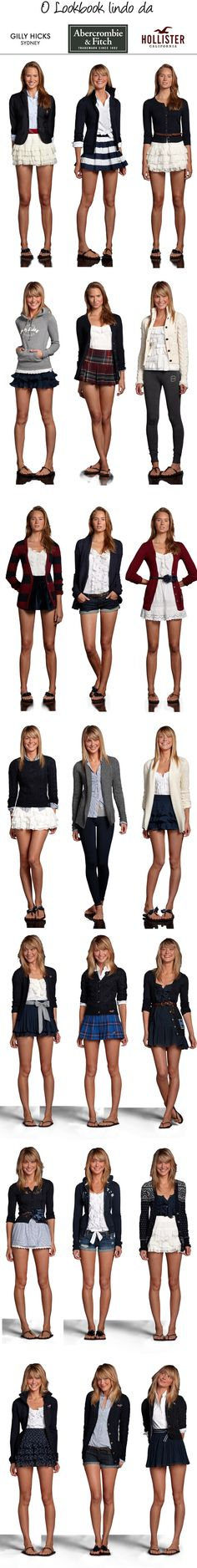 Abercrombie & Fitch <3 ~ Hollister <3....i love it!!! Street style for the teen set......!