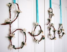 Perfect Banner for Baby Showers Wired Bebe Vine by BubblyNewYork, $35.95
