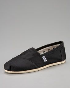 These exclusive Grosgrain Toms are the comfiest! Need another pair!!  Neiman Marcus
