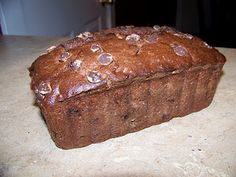 Chocolate Choc. Chip Banana Bread